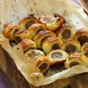 Soup/Sausage rolls