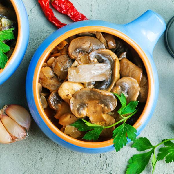 Sherried mushroom medley