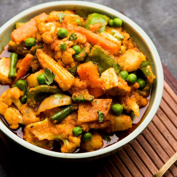 Seasoned mixed vegetables